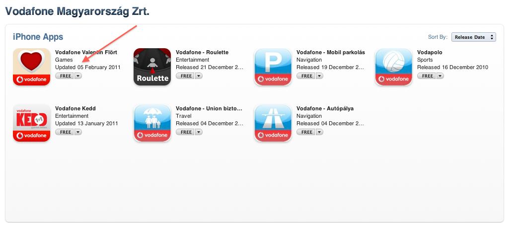 Halad a Vodafone az alkalmazásokkal - Szifon.com 24c65264c8