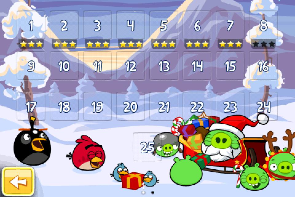 angry birds adventi naptár Angry Birds Seasons: karácsonyi frissítés   Szifon.com angry birds adventi naptár