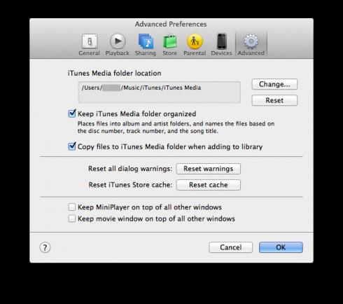 iTunes_media_mappa
