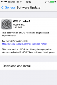iOS7b4