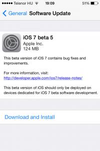 iOS7b5