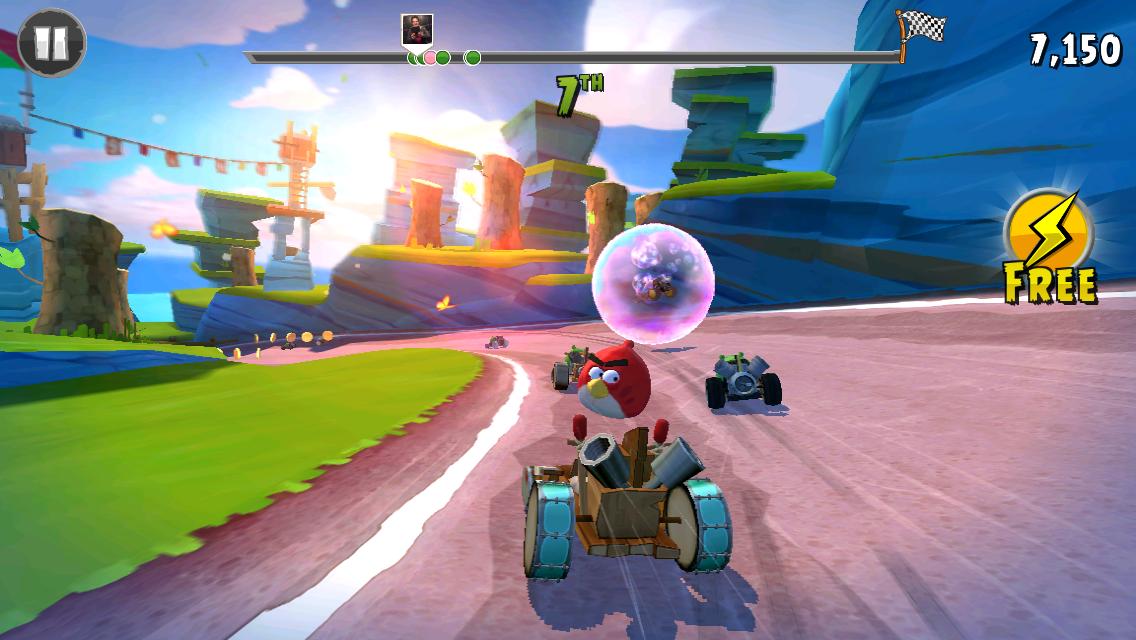 Angry Birds Go képernyőfotó