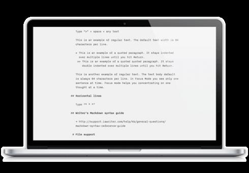 writer-mac