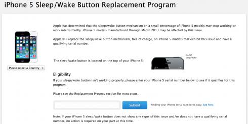iPhone5_bekapcsologomb_csere