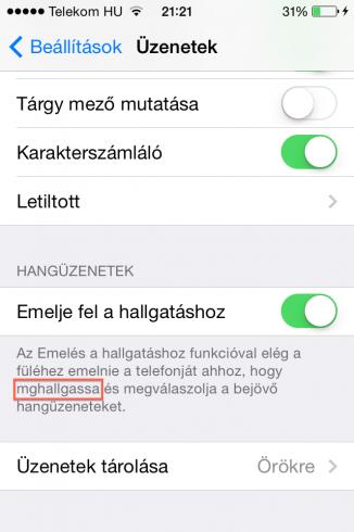 iOS8b2_emelje_hallgatashoz