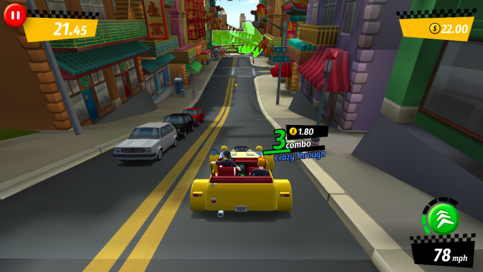 Crazy Taxi képernyőfotó