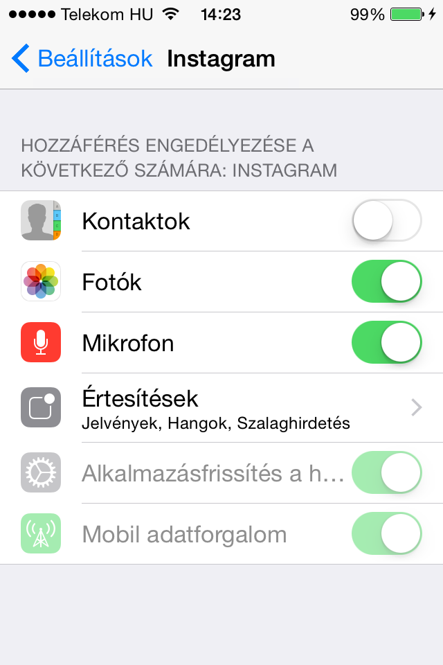 iOS8.1b1_App_beallitasok