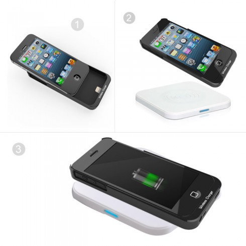 wireless-charger-receiver-for-iphone-5-operation