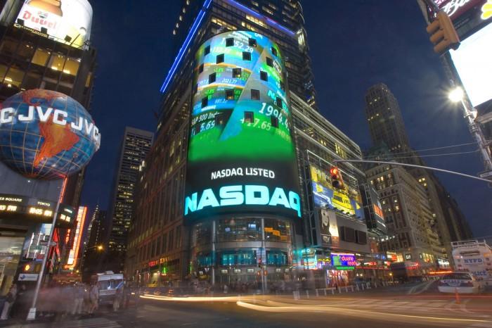 NASDAQ, Times Square – Forrás: nasdaq.com