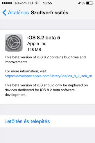 iOS8.2beta5