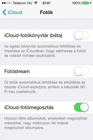 iOS8.2beta5_iCloud-fotokonyvtar