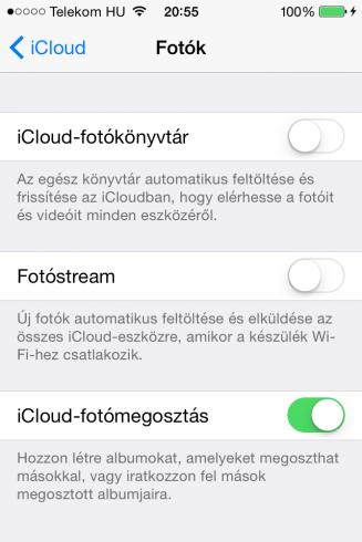 iOS8.3beta1_iCloud-fotokonyvtar