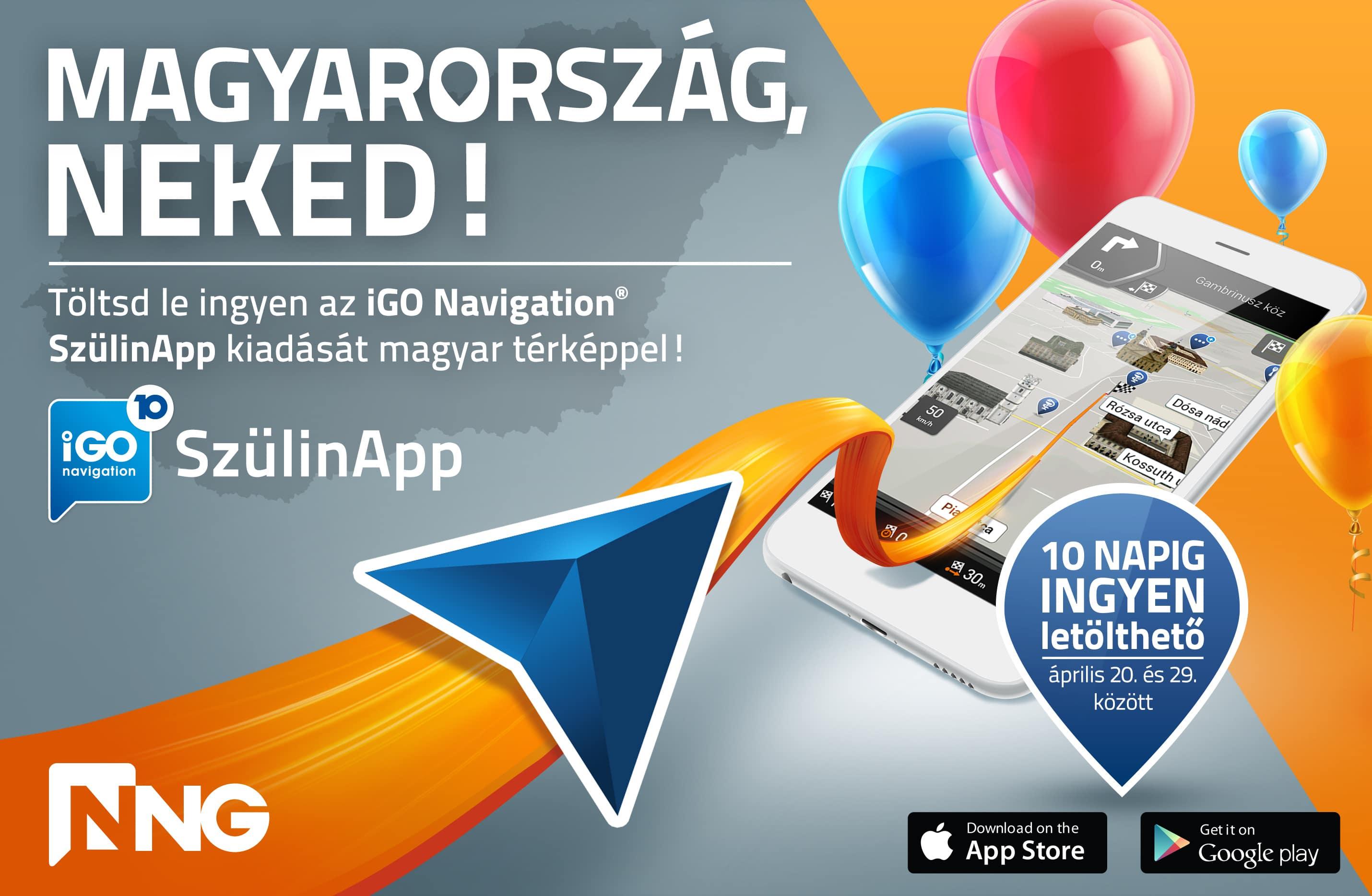 SzülinApp  töltsd le az ingyenes iGO Magyarország navigációs appot ... d1c4c49ff0