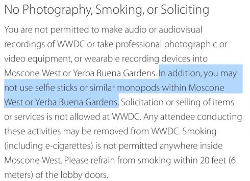 selfie_banned_WWDC
