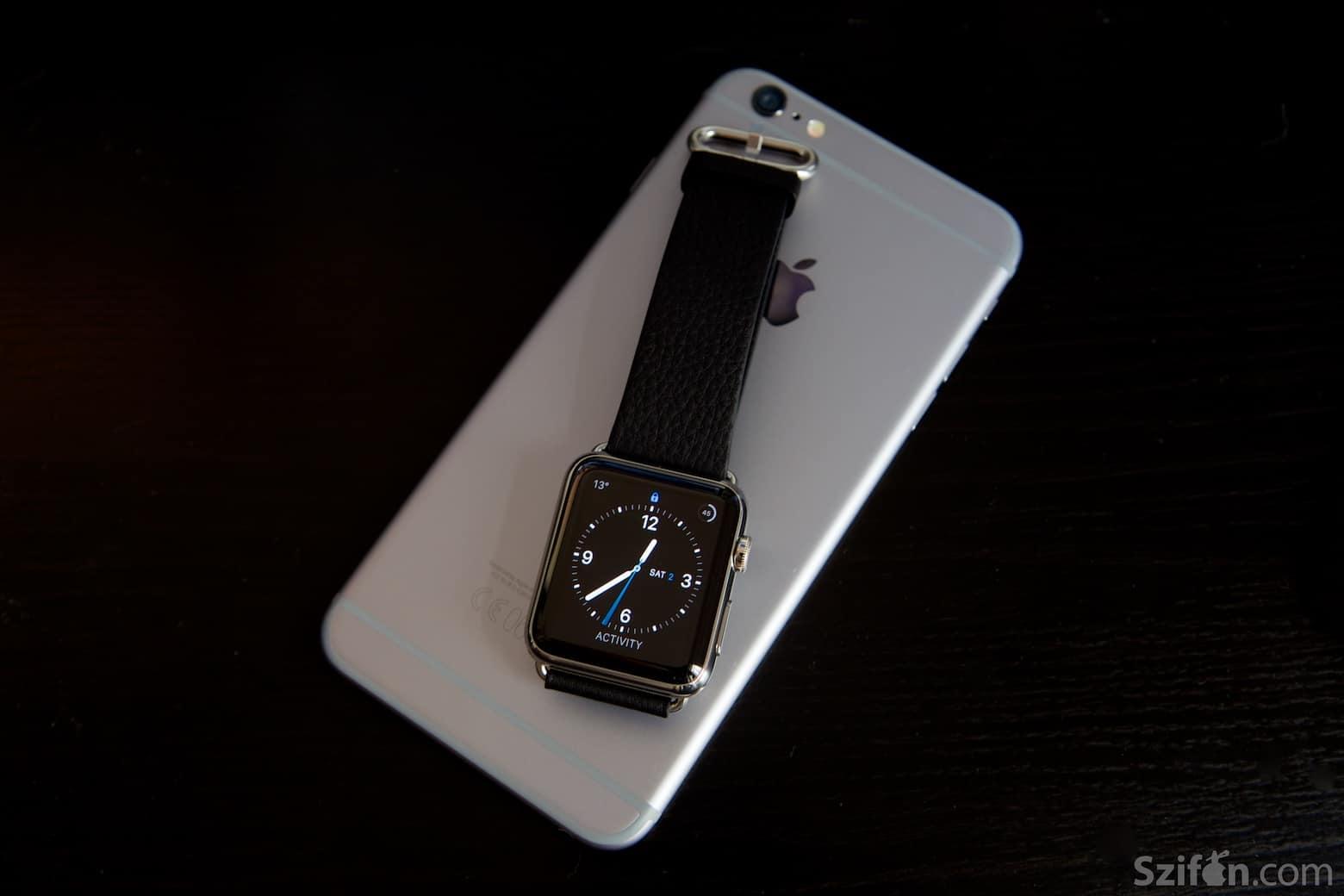 Egy hónapja az Apple Watch-csal - Szifon.com - TESZT 5bdea1c203
