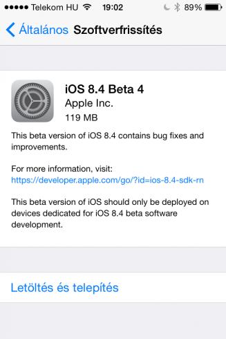 iOS8.4b4