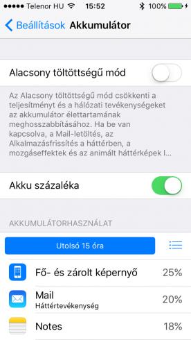 iOS9b1_energiatakarekos_mod