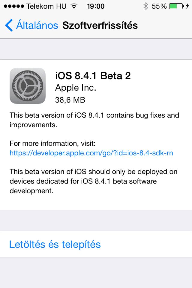 iOS8.4.1b2