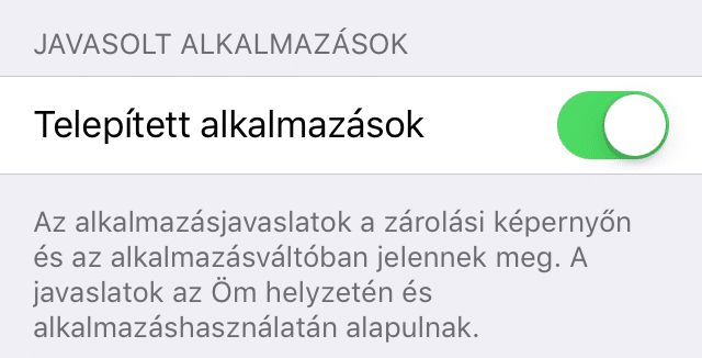 iOS9b5-Javasolt-alkalmazasok