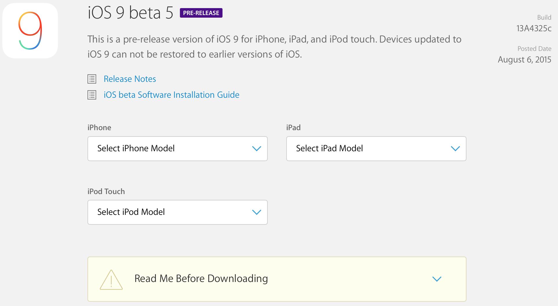 iOS9b5