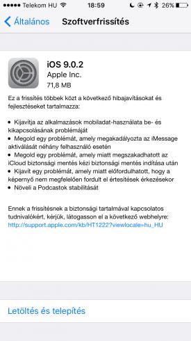 iOS9.0.2
