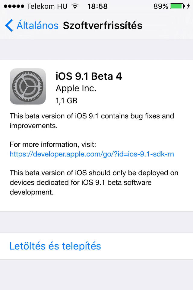iOS9.1b4