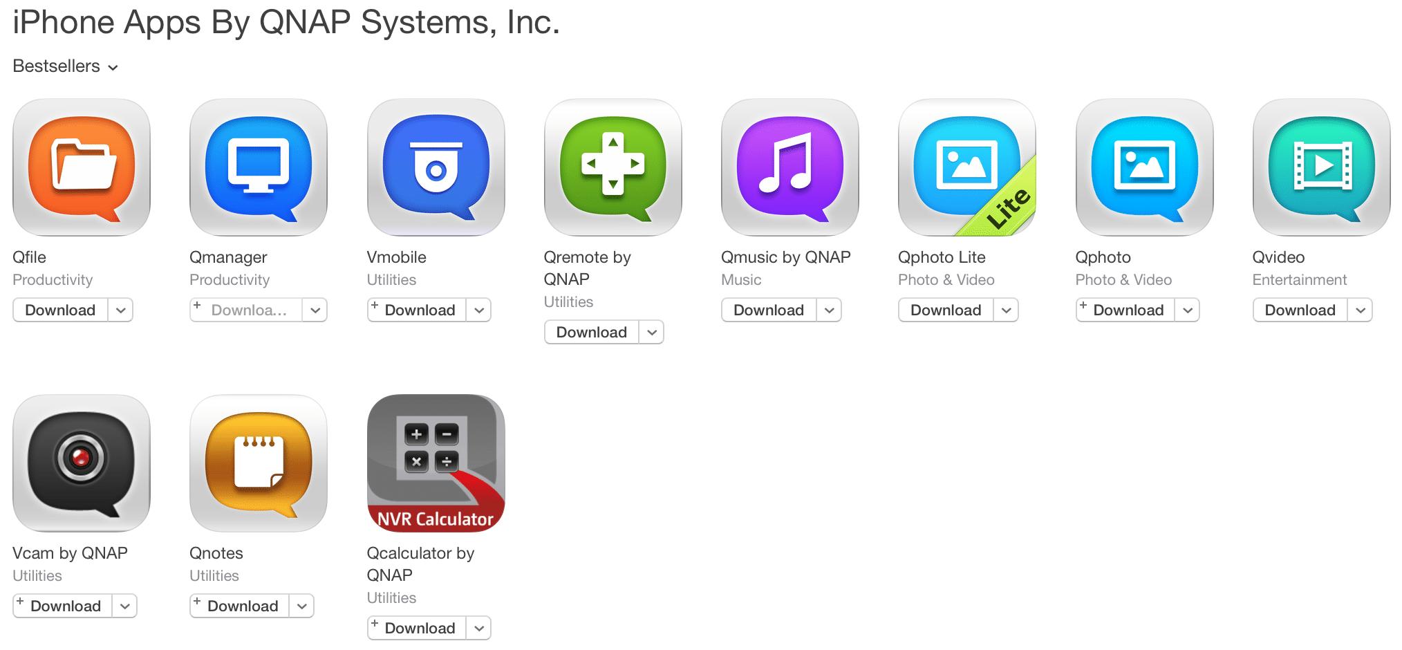 QNAP-apps