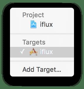 Xcode-target