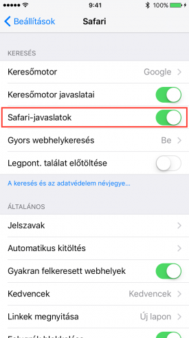 Safari-javaslatok