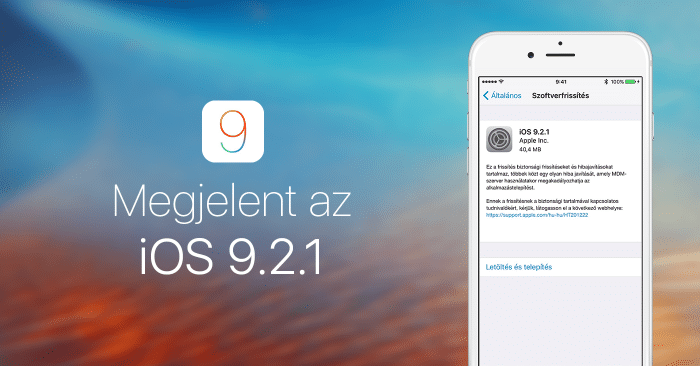 megjelent-ios9.2.1-cover