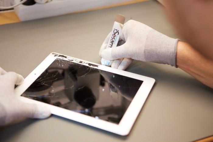 iPad érintő üveg csere kép
