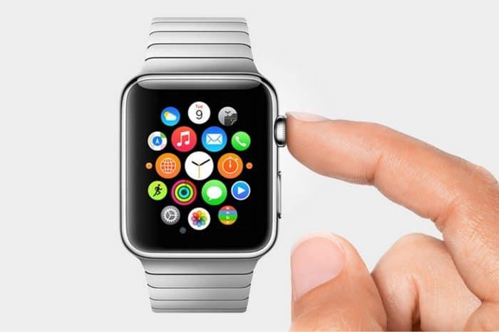 Borítókép: Rozsdamentes acél Apple Watch Link Bracelet típusú fém szíjjal.