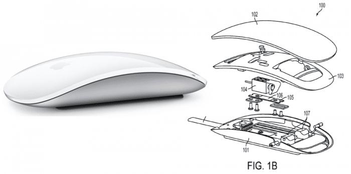 Borítókép: A Magic Mouse vázlatos felépítése.