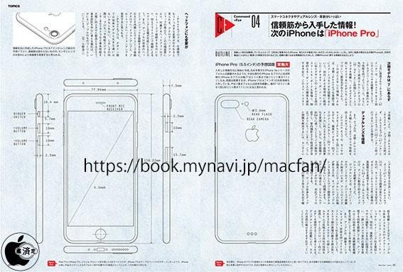 Kép: A kiszivárgott vázlatrajz az állítólagos iPhone 7 külső megjelenéséről.