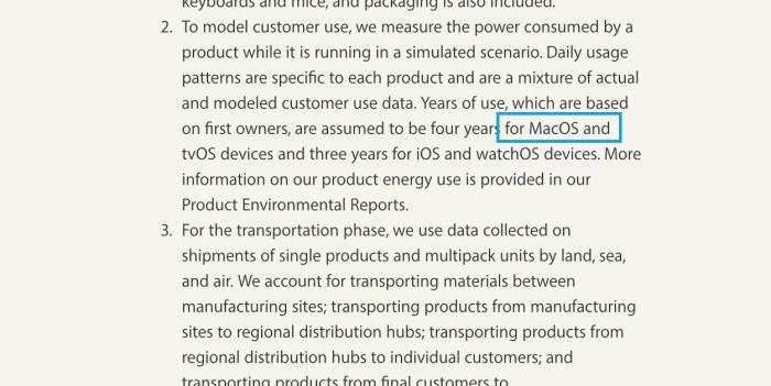 Borítókép: A MacOS név az Apple weboldalán OS X helyett.