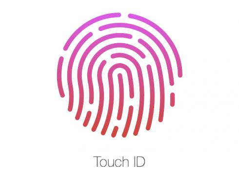 Borítókép: Touch ID logó.