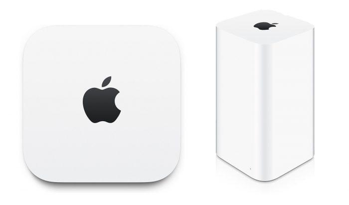 Borítókép: Apple TimeCapsule és AirPort eszközök.