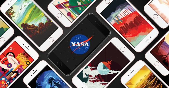 Borítókép: NASA JPL háttérképek sok iPhone 6s készüléken, mondhatni ömlesztve.