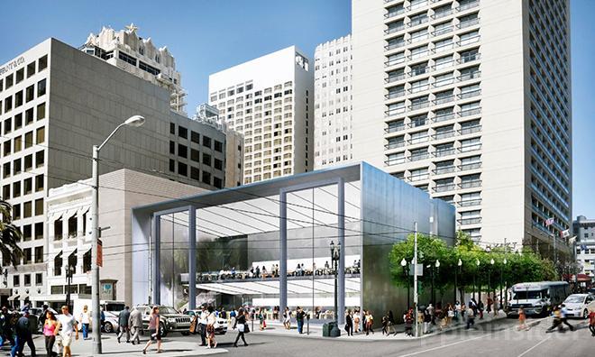 Borítókép: Az új bolt az utca másik oldaláról fotózva.
