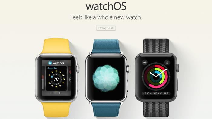 Borítókép: watchOS 3 promó kép az Apple weboldaláról.