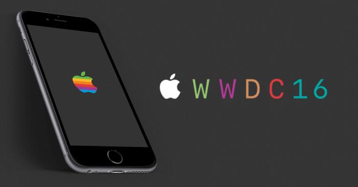 Borítókép: WWDC 2016 banner.