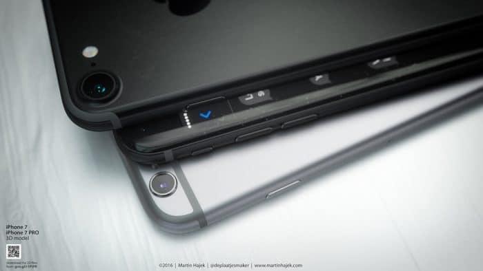Kép: A teljesen fekete készülék elő- és hátoldala egymásra rakott készülékekkel, legalul az asztroszürke színnel.