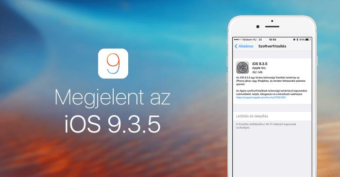 megjelent-ios9.3.5-cover