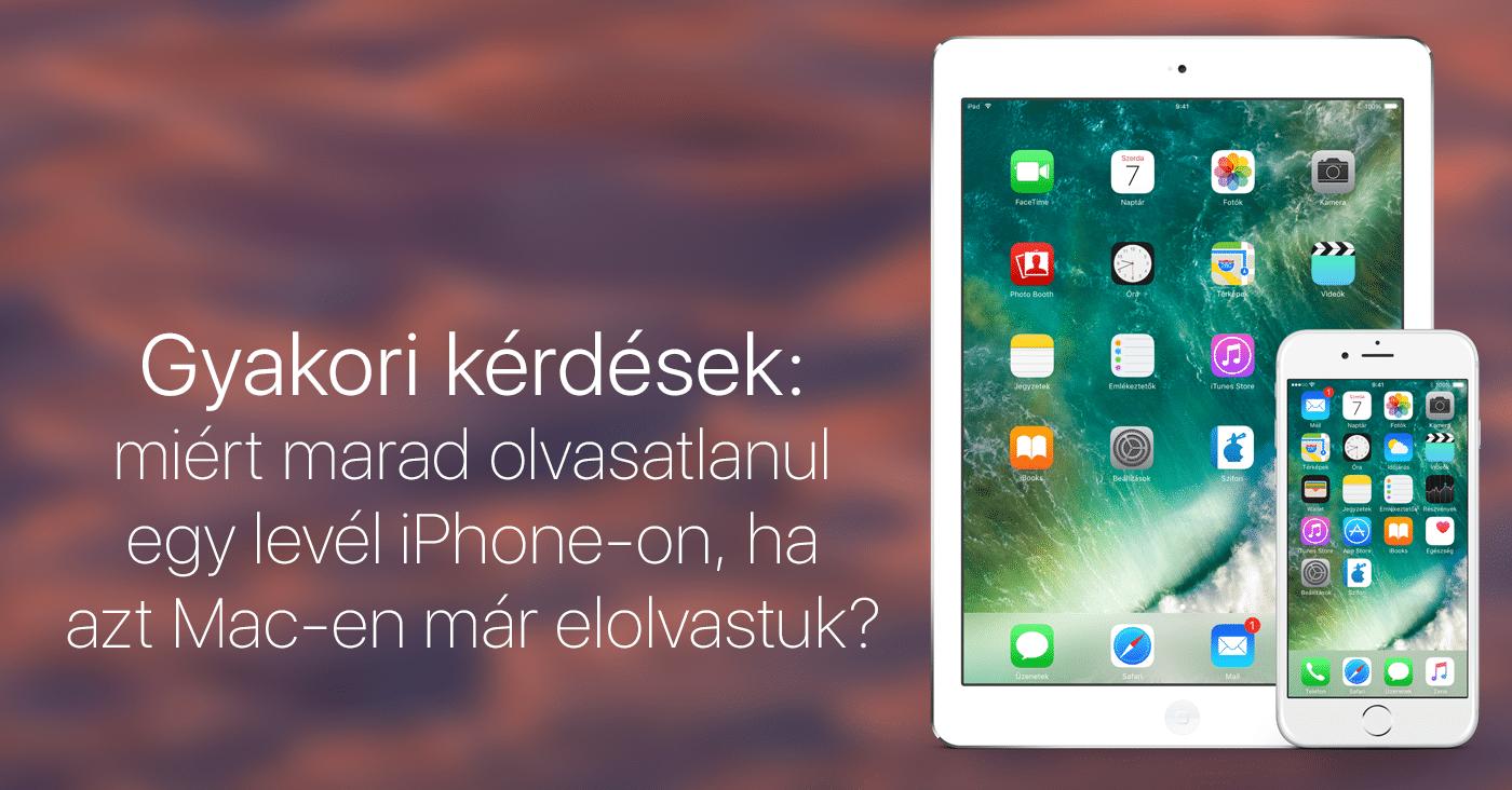 Gyakori kérdések  miért marad olvasatlanul egy levél iPhone-on f35efe0192