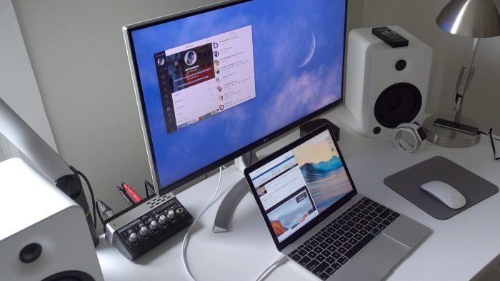csatlakoztassa a mikrofont a mac-hez
