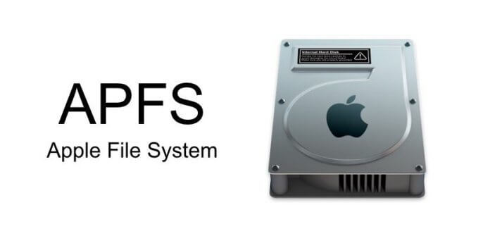 Apple File system AFPS