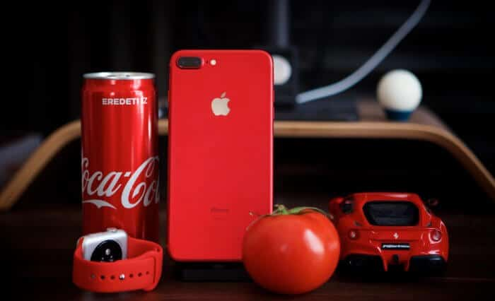 Piros iPhone 7 Plus 6 Product red special edition
