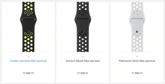 Nike Sport Apple Watch szíj