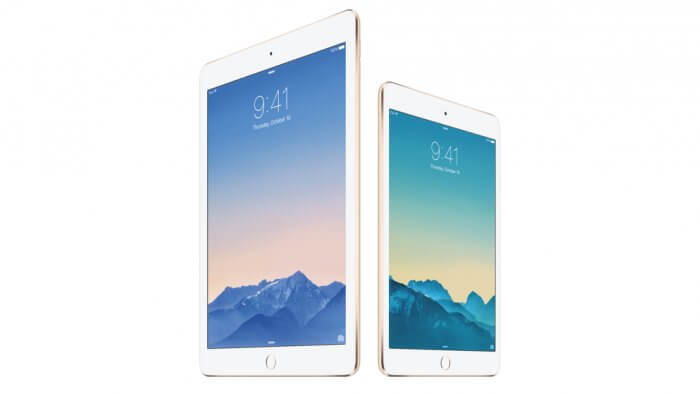 iPad Air 2, iPad mini 3