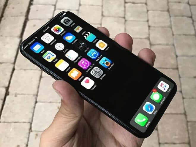 iPhone 8 koncepció